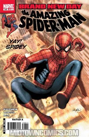 Amazing Spider-Man Vol 2 #549 Cover A Regular Salvador Larroca Cover