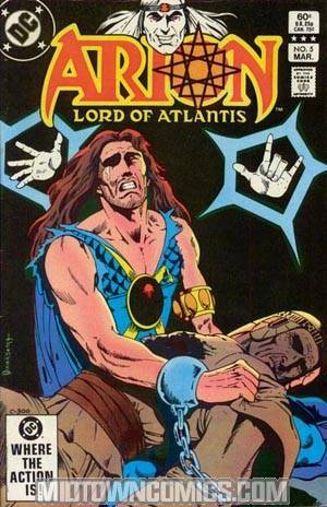 Arion Lord Of Atlantis #5