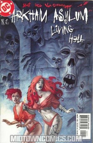 Arkham Asylum Living Hell #5