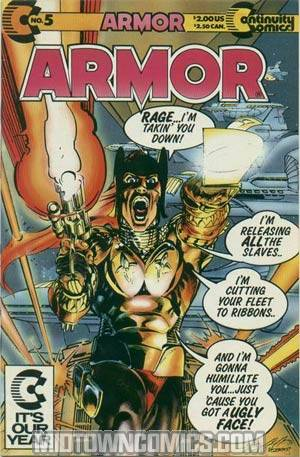 Armor (And The Silver Streak) #5