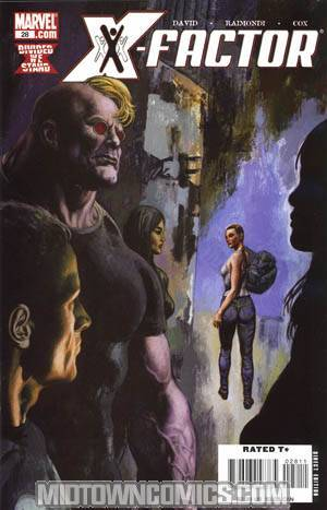 X-Factor Vol 3 #28 Cover A 1st Ptg (X-Men Divided We Stand Tie-In)