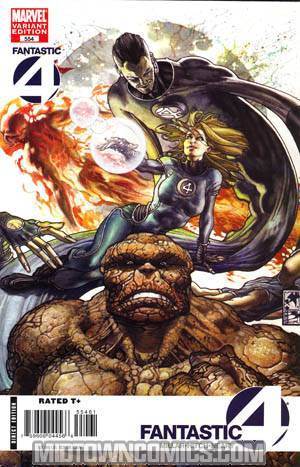 Fantastic Four Vol 3 #554 Cover C Incentive Simone Bianchi Variant Cover