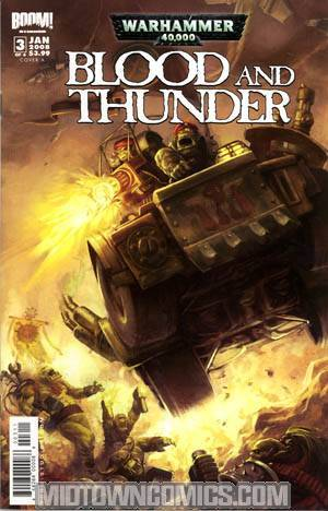 Warhammer 40K Blood & Thunder #3 Cover A