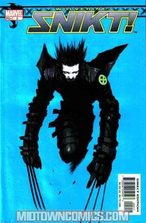 Wolverine Snikt #2