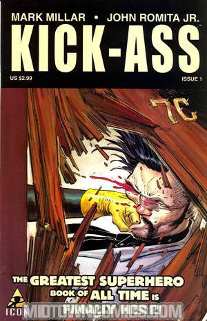 Kick-Ass #1 Cover A 1st Ptg Regular John Romita Jr Cover