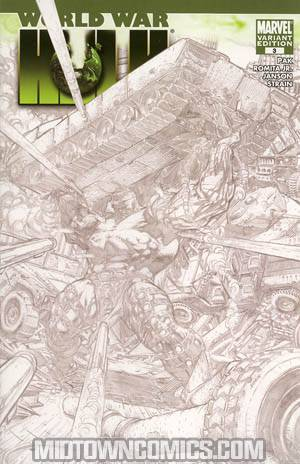 World War Hulk #3 Cover C Graham Crackers 2007 Baltimore Con Exclusive Cover