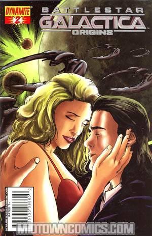 Battlestar Galactica Origins #2 Cover C Foil Cover