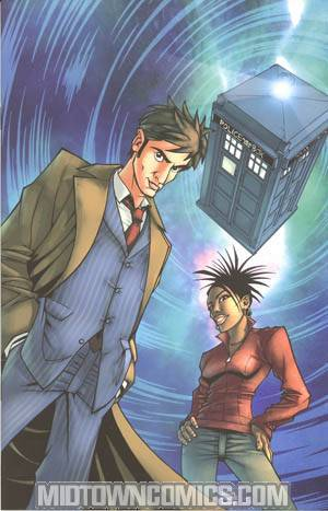Doctor Who Vol 2 #1 Cover B Incentive Nick Roche Virgin Cover