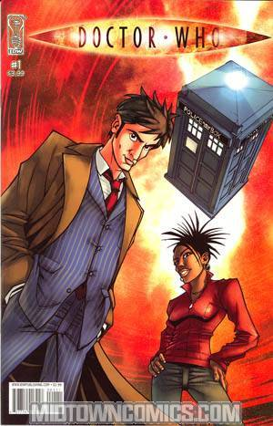 Doctor Who Vol 2 #1 Cover A 1st Ptg Regular Nick Roche Cover