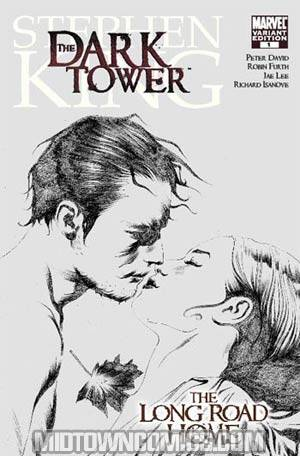 Dark Tower Long Road Home #1 Cover B Incentive Jae Lee Sketch Variant Cover