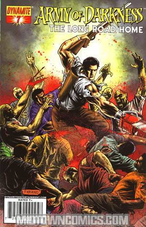 Army Of Darkness Vol 2 #7 Cover A Fabiano Neves Cover