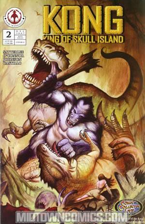Kong King Of Skull Island #2 Cvr A