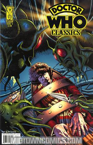Doctor Who Classics #4 Cover A Regular Joe Corroney Cover