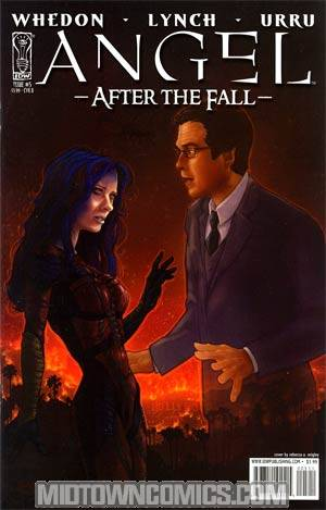 Angel After The Fall #5 Cover B Regular Rebecca A Wrigley Cover