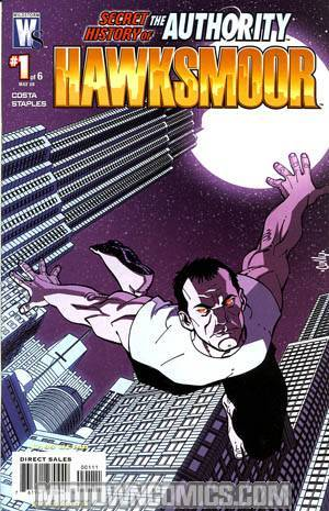 Secret History Of The Authority Jack Hawksmoor #1