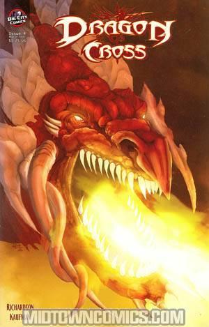 Dragon Cross #4 Regular Cover