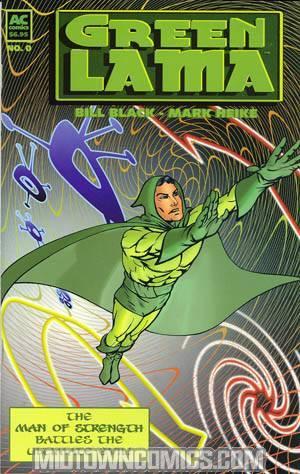 Green Lama Man Of Strength #0