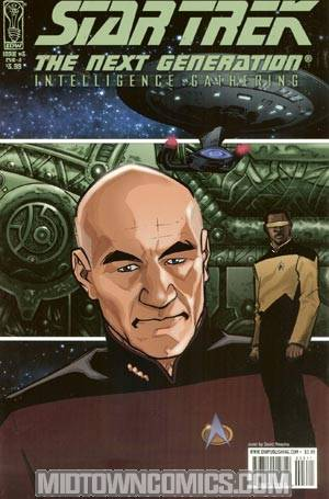 Star Trek The Next Generation Intelligence Gathering #3 Regular David Messina Cover