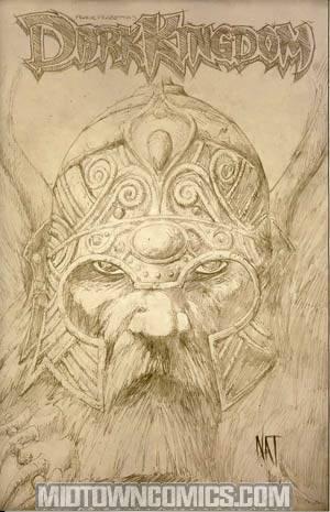 Frank Frazettas Dark Kingdom #1 Incentive Nat Jones Sketch Variant Cover