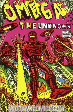 Omega The Unknown Vol 2 #7