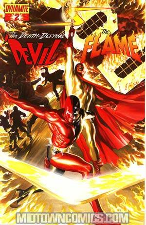 Project Superpowers #2 Cover A Regular Alex Ross