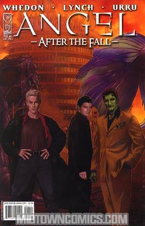 Angel After The Fall #6 Cover A Regular Rebecca A Wrigley Cover