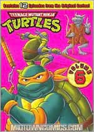 Teenage Mutant Ninja Turtles Season 6 DVD