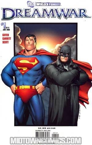 DC Wildstorm Dreamwar #1 Cover B Incentive Lee Garbett Variant Cover