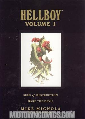 Hellboy Library Edition Vol 1 Seed Of Destruction And Wake The Devil HC