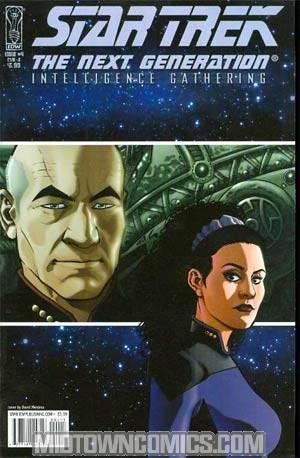 Star Trek The Next Generation Intelligence Gathering #4 Regular David Messina Cover