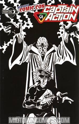 Captain Action Comics #0 NYCC Exclusive Ruben Procopio Sketch Cover