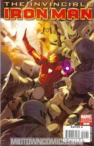 Invincible Iron Man #1 Cover C Incentive Marko Djurdjevic Variant Cover