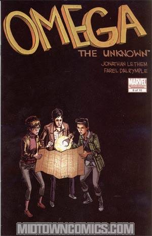 Omega The Unknown Vol 2 #8