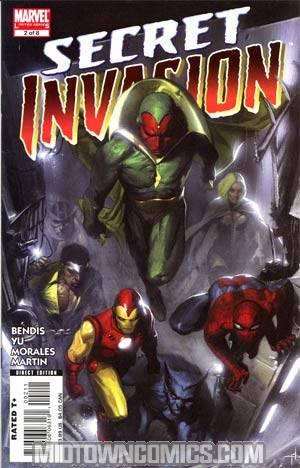 Secret Invasion #2 Cover A 1st Ptg Regular Gabriele Dell Otto Cover