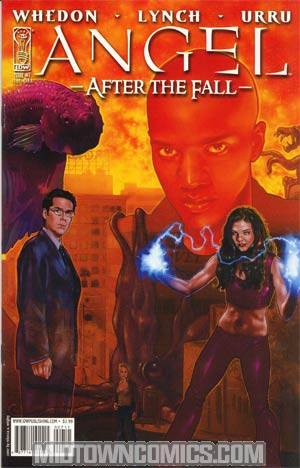 Angel After The Fall #7 Cover A Regular Rebecca A Wrigley Cover