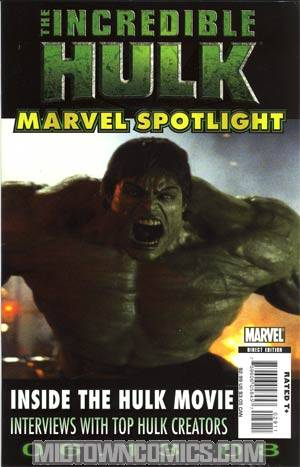 Marvel Spotlight Incredible Hulk Movie