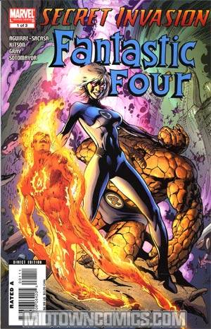 Secret Invasion Fantastic Four #1 Cover A Regular Alan Davis Cover