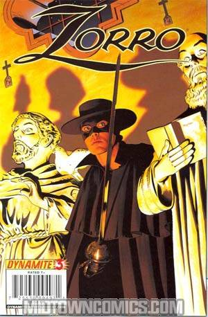 Zorro Vol 6 #3 Mike Mayhew Cover