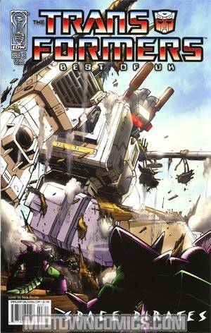 Transformers Best Of UK Space Pirates #3 Regular Nick Roche Cover