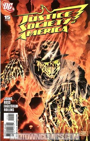 Justice Society Of America Vol 3 #15 Cover B Incentive Dale Eaglesham Variant Cover