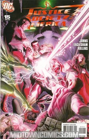 Justice Society Of America Vol 3 #15 Cover A Regular Alex Ross Cover
