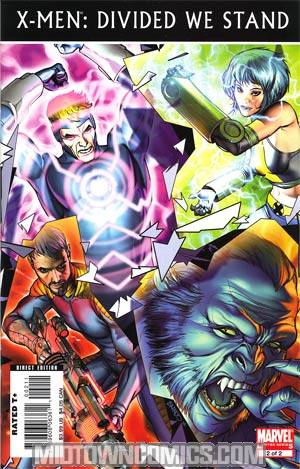 X-Men Divided We Stand #2