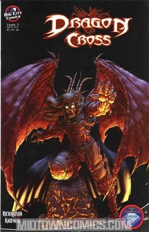 Dragon Cross #5 Regular Cover