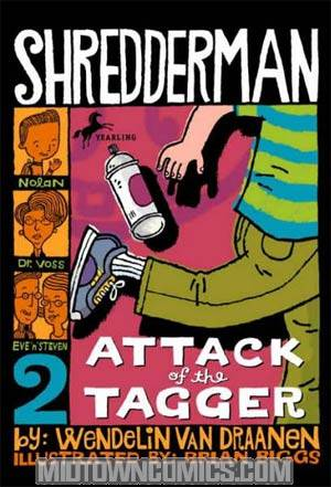 Shredderman Vol 2 Attack Of The Tagger TP