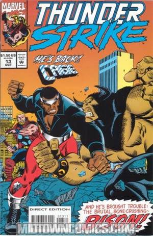 Thunderstrike #13 Double Feature Edition