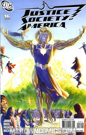 Justice Society Of America Vol 3 #16 Cover A Regular Alex Ross Cover
