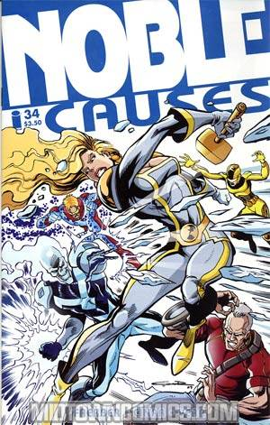 Noble Causes Vol 2 #34 (Ongoing Series)