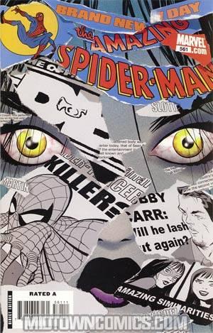 Amazing Spider-Man Vol 2 #561