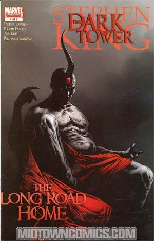 Dark Tower Long Road Home #4 Cover A Regular Jae Lee Cover