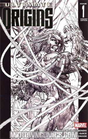 Ultimate Origins #1 Cover D Incentive Michael Turner Sketch Variant Cover